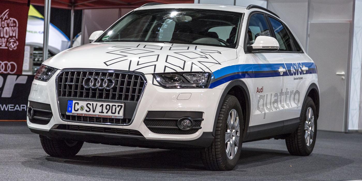 Fahrzeugfolierung Audi Q3
